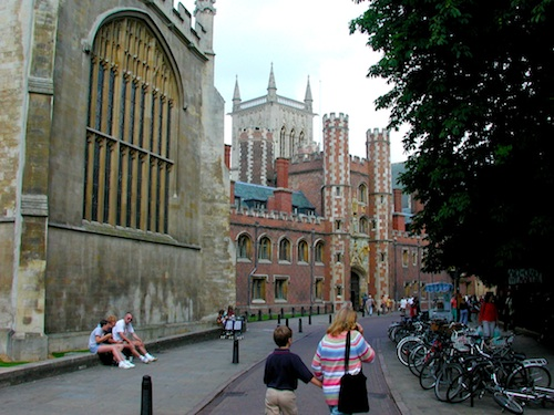 "When in Cambridge, it's easy to see where the term ""hallowed halls"" originated"