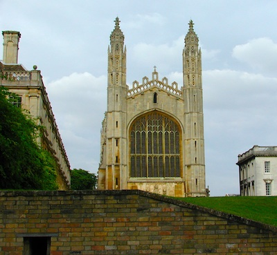 King's College Chapel as seen from the River Cam