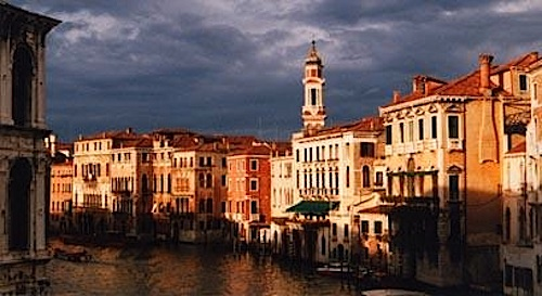 The Grand Canal in Venice. There's a reason it's called Grand.